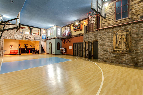 Jazz Up Your Home Stylish Basketball Courts Utah Home