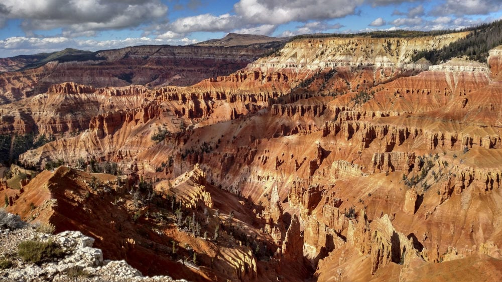 View from Supreme Point Overlook Cedar Breaks National Monument Utah