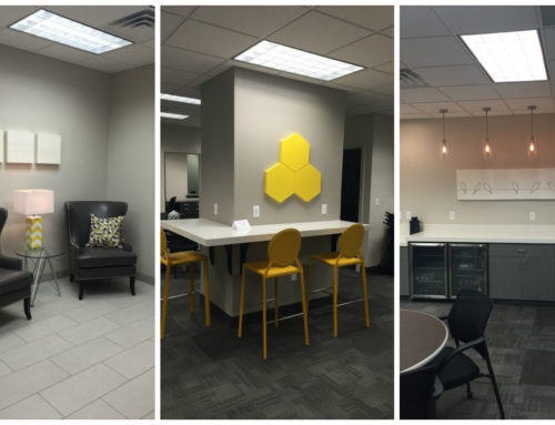 A Remodeled and Refreshed Office in Orem
