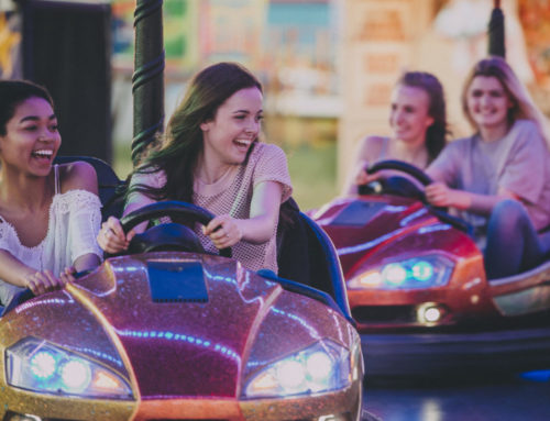 Brace Yourself and Hold on Tight for Some Amusement Park Fun